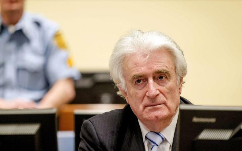 Radovan Karadzic - Foto: Robin Van Lonkhuijsen/ANP