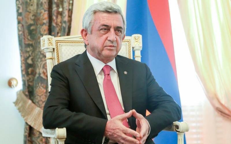 Sersch Sargsjan - Foto: Varo Rafayelyan