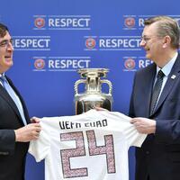 Bewerbung - Foto: Harold Cunningham/UEFA