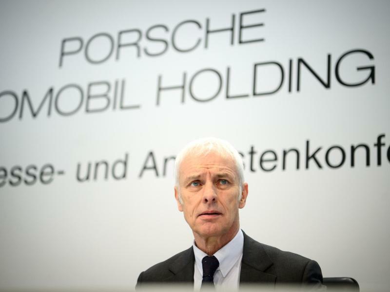 Porsche SE - Matthias Müller - Foto: Sina Schuldt
