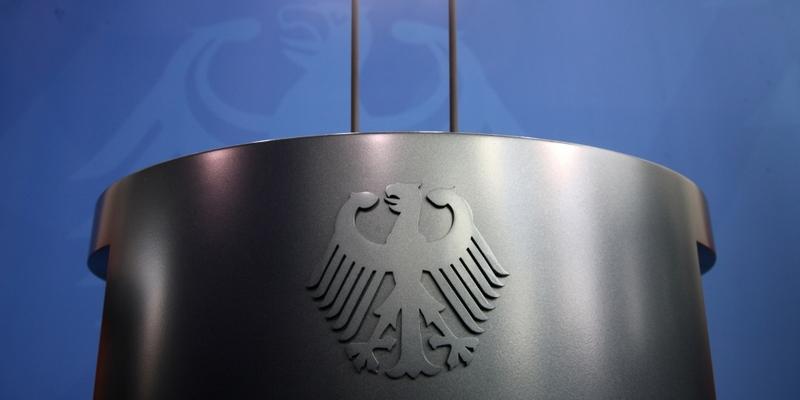 Rednerpult im Bundeskanzleramt - Foto: über dts Nachrichtenagentur