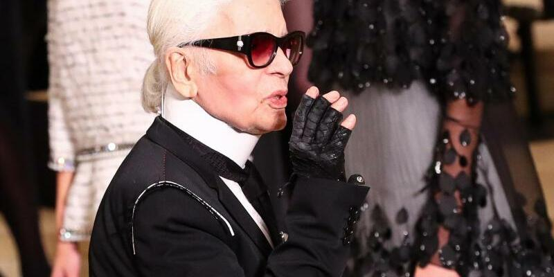 Karl Lagerfeld - Foto: Christian Charisius