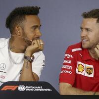 Hamilton und Vettel - Foto: Rick Rycroft/AP