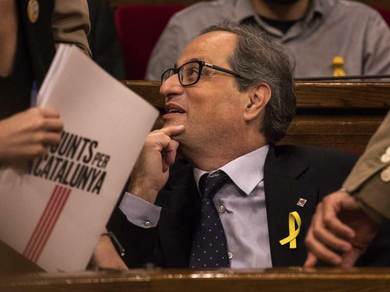 Quim Torra - Foto: Emilio Morenatti/AP