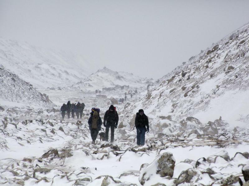 Hoch hinauf - Foto: Tashi Sherpa
