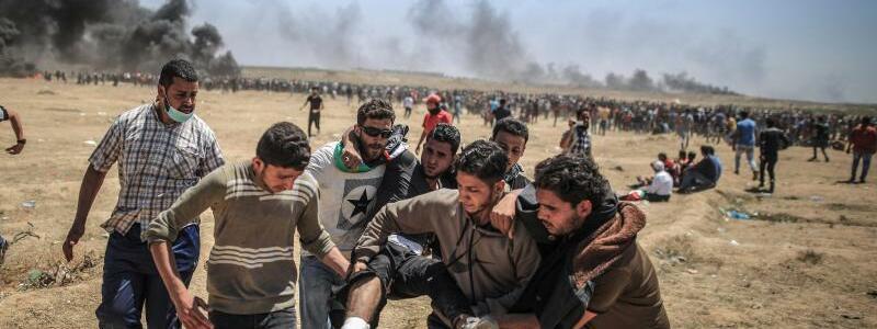 Proteste in Gaza - Foto: Das Weiße Haus sieht die Verantwortung für die Gewalteskalation bei der Hamas. Foto:Wissam Nassar