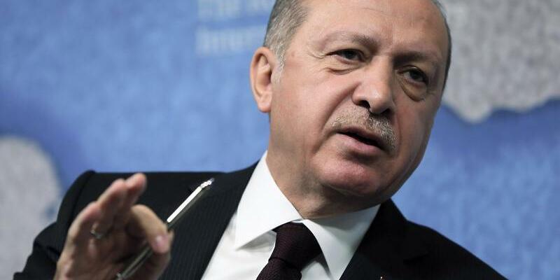 Türkischer Präsident - Foto: Pool Presdential Press Service/dpa