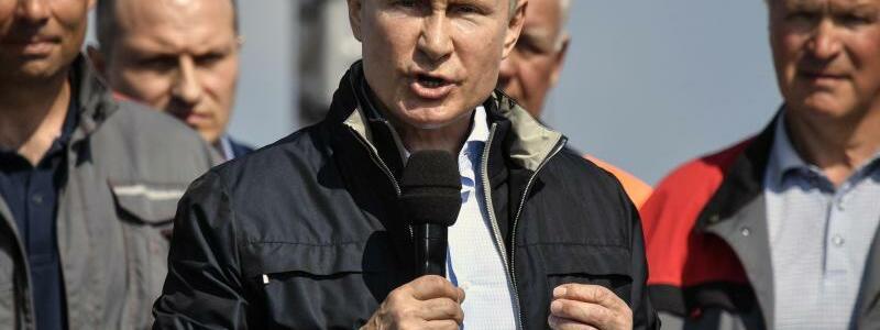 Putin - Foto: Alexander Nemenov/POOL AFP/AP