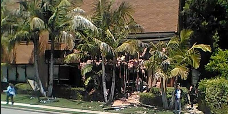 Explosion in US-Klinik - Foto: Raul Hernandez/AP