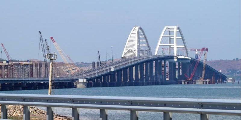 Krim-Brücke - Foto: Sergei Bobylev/TASS