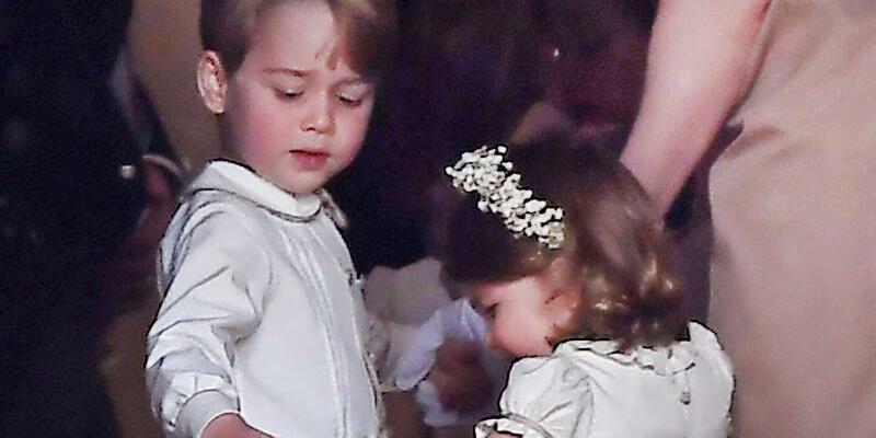 Prinz George und Prinzessin Charlotte - Foto: Andrew Matthews/PA Wire