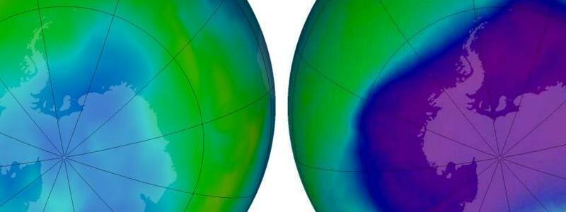 Ozonloch über der Antarktis - Foto: Nasa