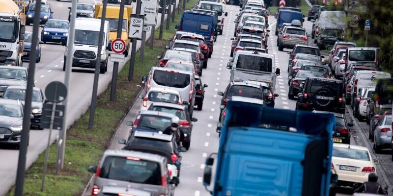 Berufsverkehr in München - Foto: Sven Hoppe