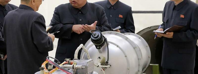 Kim Jong Un - Foto: KCNA via KNS