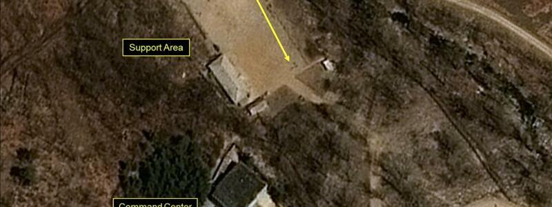 Atomwaffen-Testgelände in Nordkorea - Foto: Pleiades CNES/Airbus DS/38 North/Spot Image