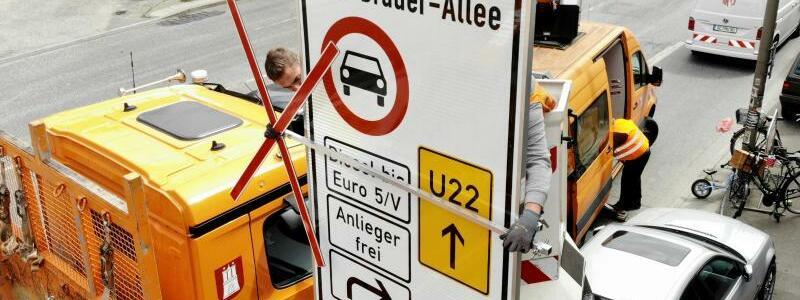 Fahrverbot für Diesel-LKW - Foto: Daniel Bockwoldt