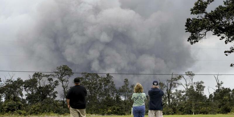Aschewolke - Foto: Caleb Jones/AP