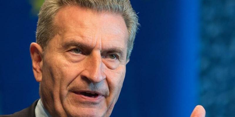 Günther Oettinger - Foto: Monika Skolimowska