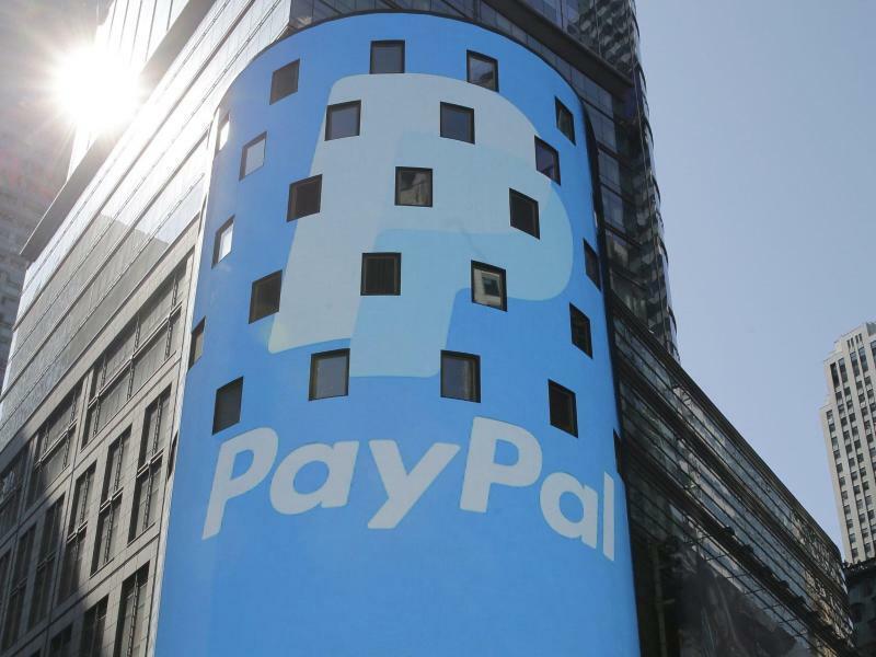 Paypal - Foto: Andrew Gombert/EPA