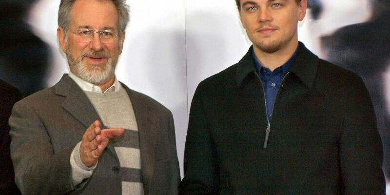 Steven Spielberg und Leonardo DiCaprio - Foto: Stephanie Pilick