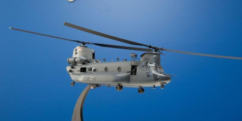 Cotesa - Chinook H-47 - Foto: Jörg Carstensen