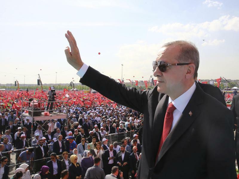 Recep Tayyip Erdogan - Foto: Pool Presidential Press Service/AP