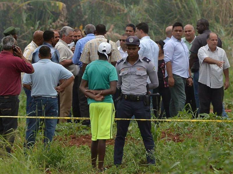 Flugzeugabsturz in Kuba - Foto: Cuban News Agency/XinHua