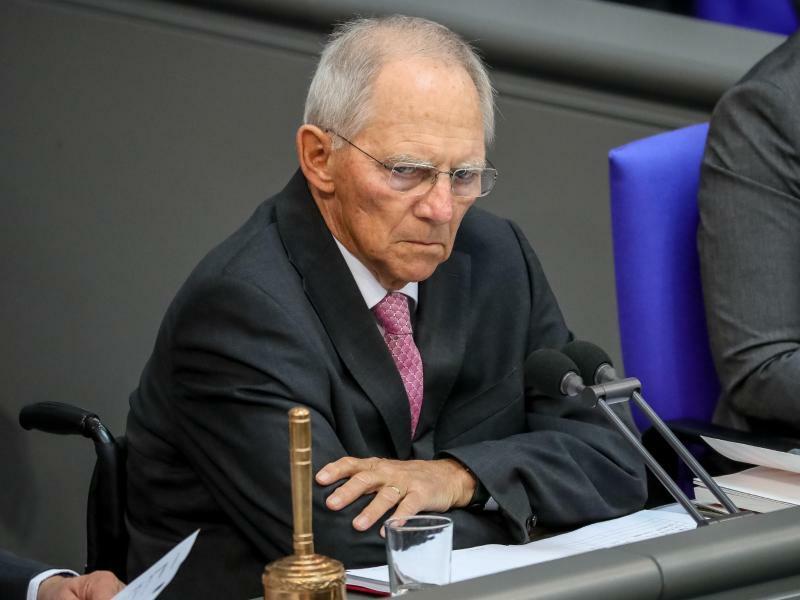 Bundestagspräsident Schäuble - Foto: Michael Kappeler