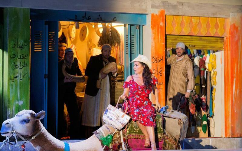 L'Italiana in Algeri - Foto: Monika Rittershaus/Salzburger Festspiele