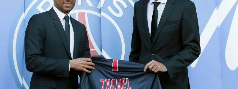 Tuchel/al-Khelaifi - Foto: Michel Euler/AP