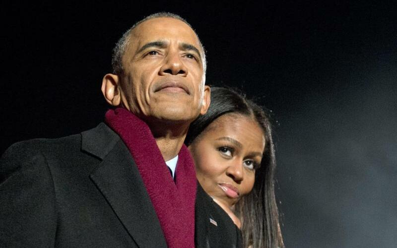 Barack + Michelle Obama - Foto: Ron Sachs/Pool