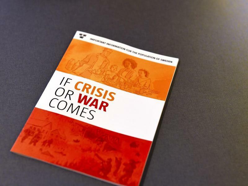 Broschüre für Kriegs- und Krisenfall - Foto: Pontus Lund