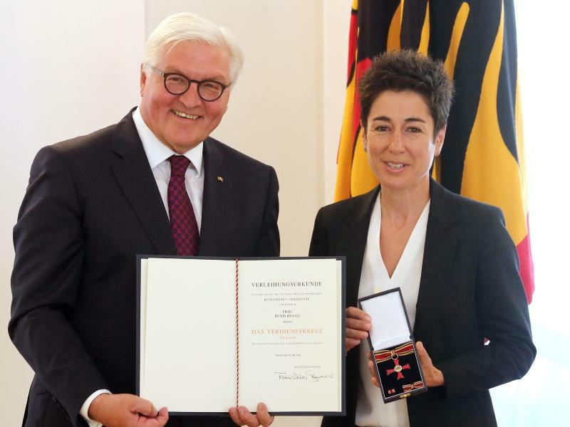 Bundespräsident verleiht Verdienstorden - Foto: Wolfgang Kumm