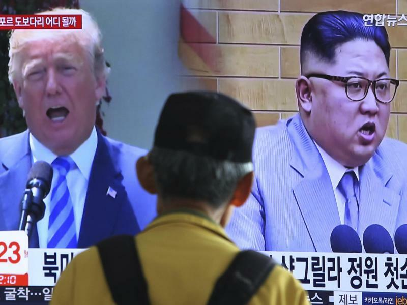 Kim Jong Un und Donald Trump - Foto: Ahn Young-Joon/Archiv