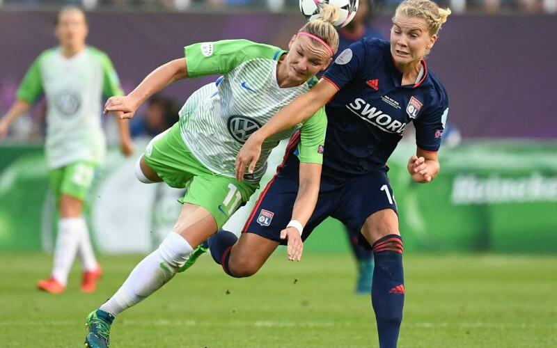 VfL Wolfsburg - Olympique Lyon - Foto: Ina Fassbender