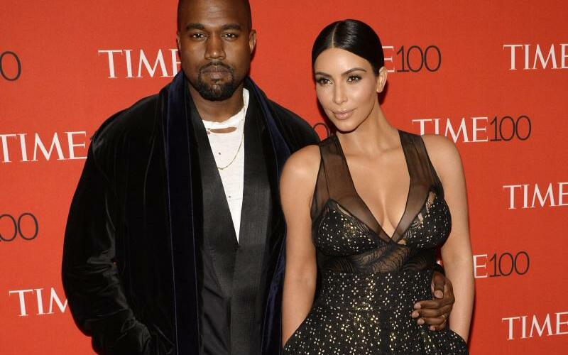 Kanye West & Kim Kardashian - Foto: Justin Lane/EPA