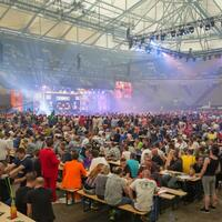 Zuschauerrekord - Foto: Friso Gentsch