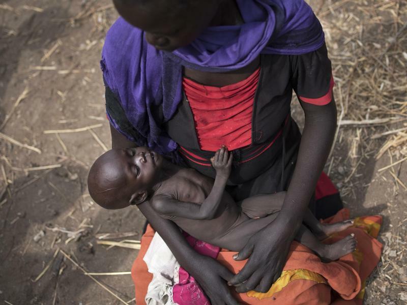 Hungersnot im Südsudan - Foto: Uncredited/AP