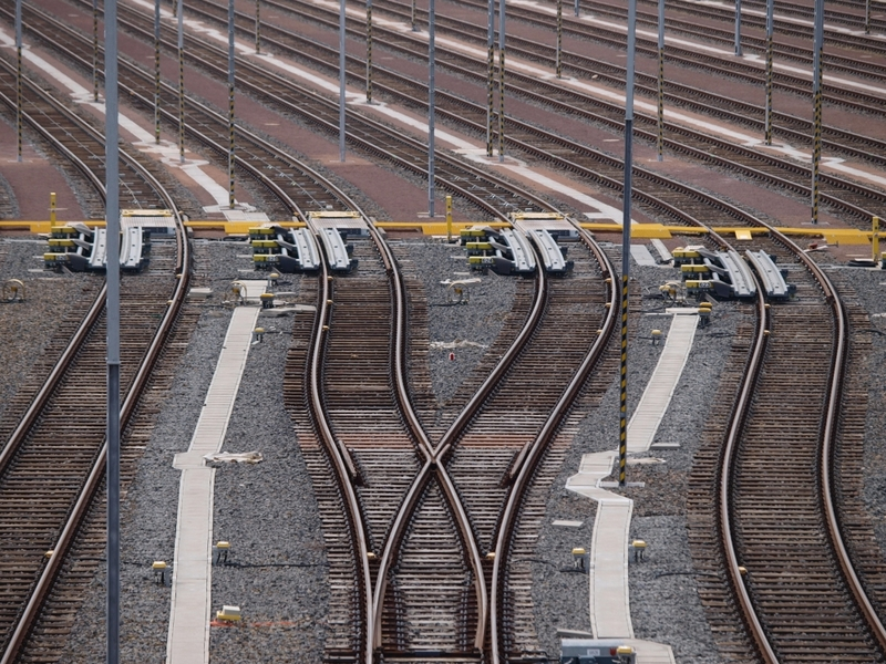 Gleisanlage - Foto: über dts Nachrichtenagentur