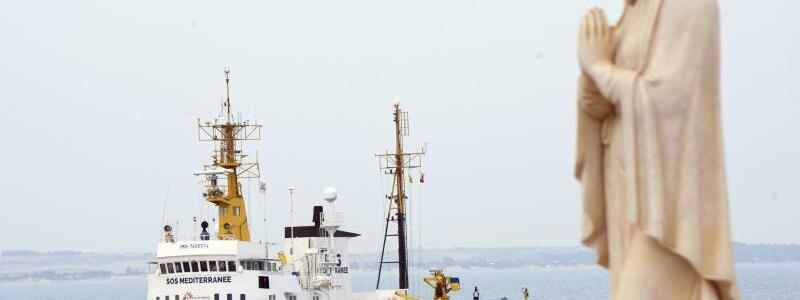Rettungsschiff «Aquarius» - Foto: Salvatore Cavalli/AP