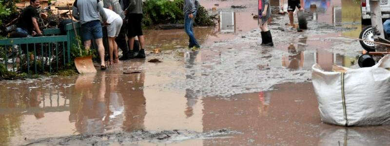 Unwetter in Lorch - Foto: Bulling/Sueddeutsche Mediengesellschaft