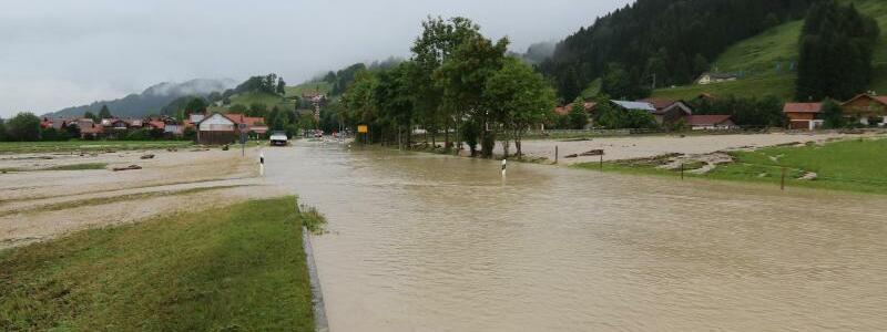 Überschwemmungen in Rettenberg - Foto: Benjamin Liss
