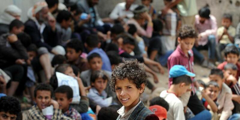 Drohende Hungersnot im Jemen - Foto: Mohammed Mohammed/XinHua