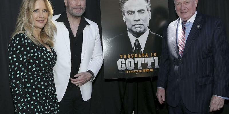 John Travolta in Brooklyn - Foto: Patrick Lewis/STARPIX/AP