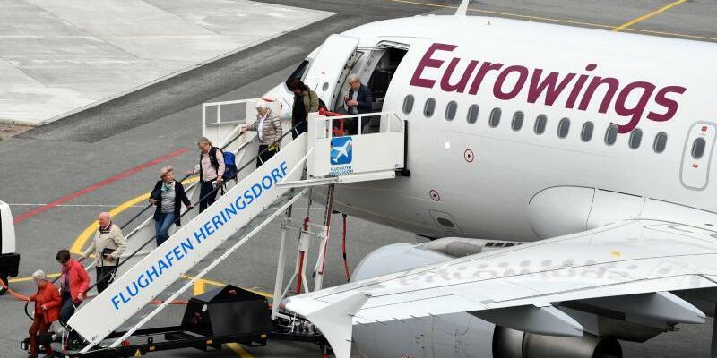 Eurowings - Foto: Joachim Kloock/HDF/dpa-tmn