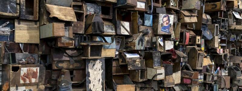 Art Basel - Ibrahim Mahama - Foto: Georgios Kefalas/KEYSTONE
