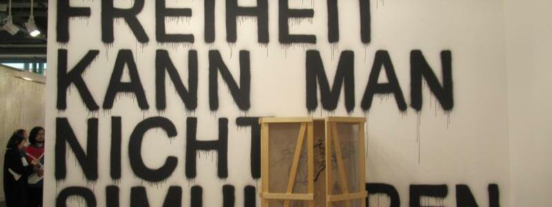 Art Basel - Rirkrit Tiravanija - Foto: Sabine Glaubitz