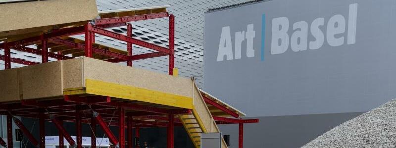 Art Basel - Das Logo - Foto: Georgios Kefalas/KEYSTONE