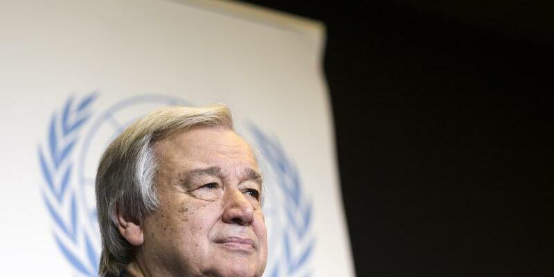 Antonio Guterres - Foto: Cyril Zingaro/KEYSTONE