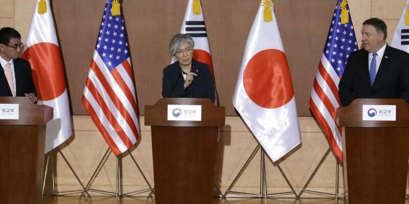 Außenminister-Treffen in Seoul - Foto: Ahn Young-Joon/AP